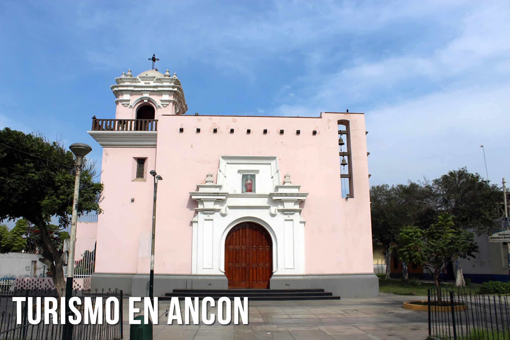 TURISMO EN ANCON | IGLESIA SAN PEDRO