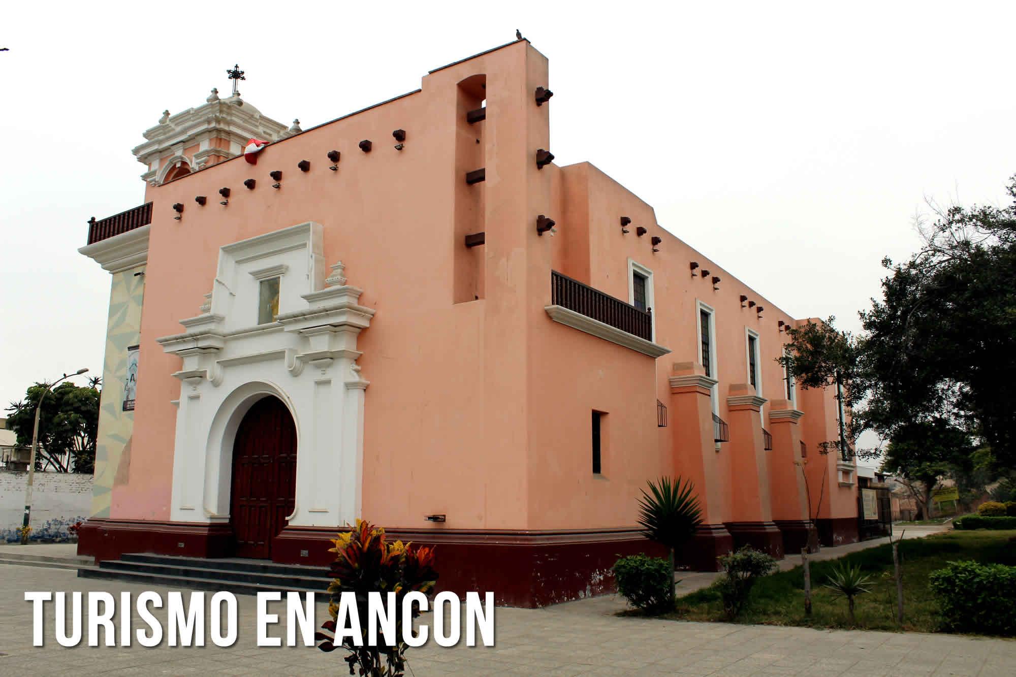 TURISMO EN ANCON | IGLESIA DE SAN PEDRO