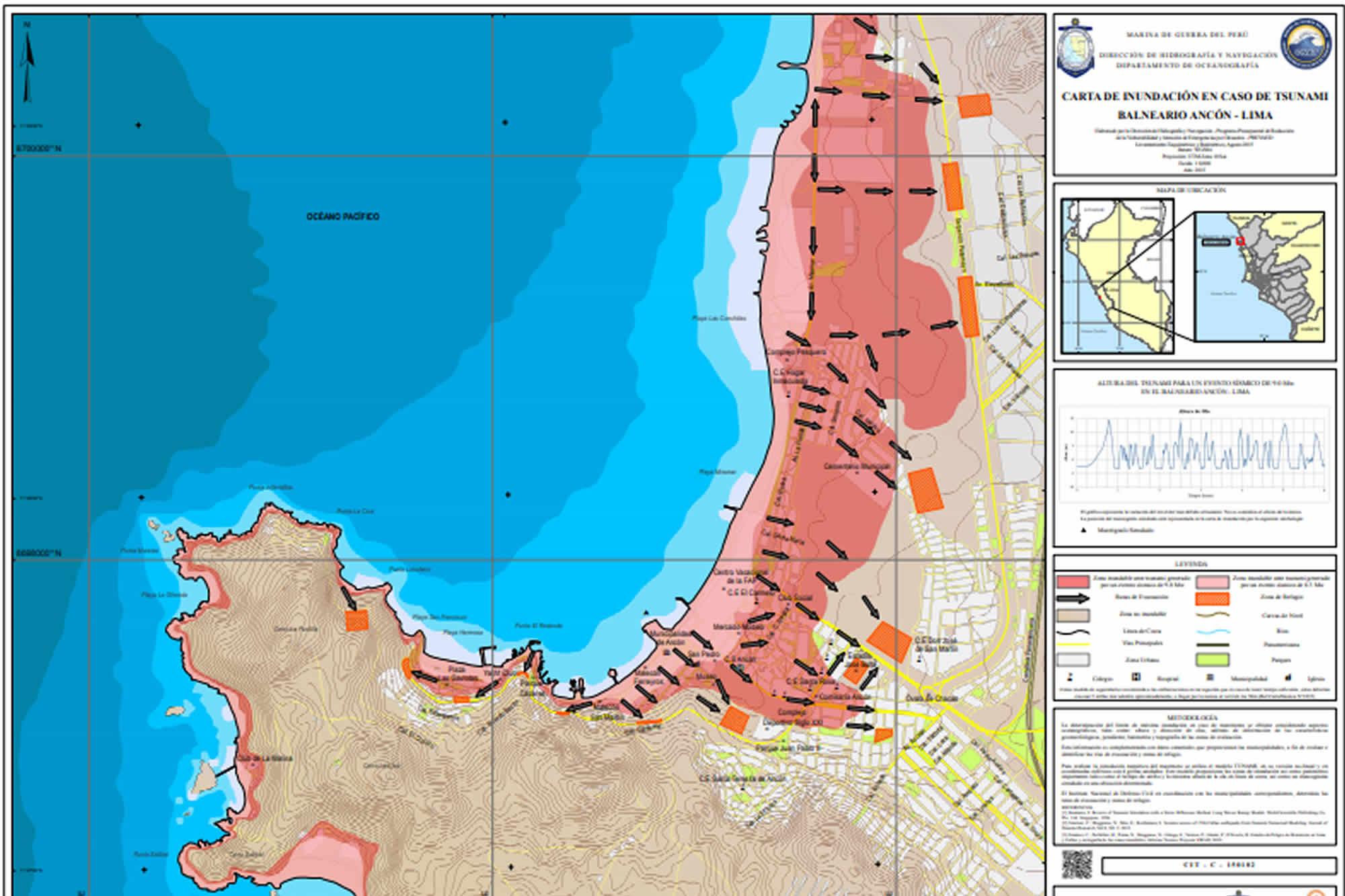TURISMO EN ANCON | SEGURIDAD ANTE DESASTRES NATURALES