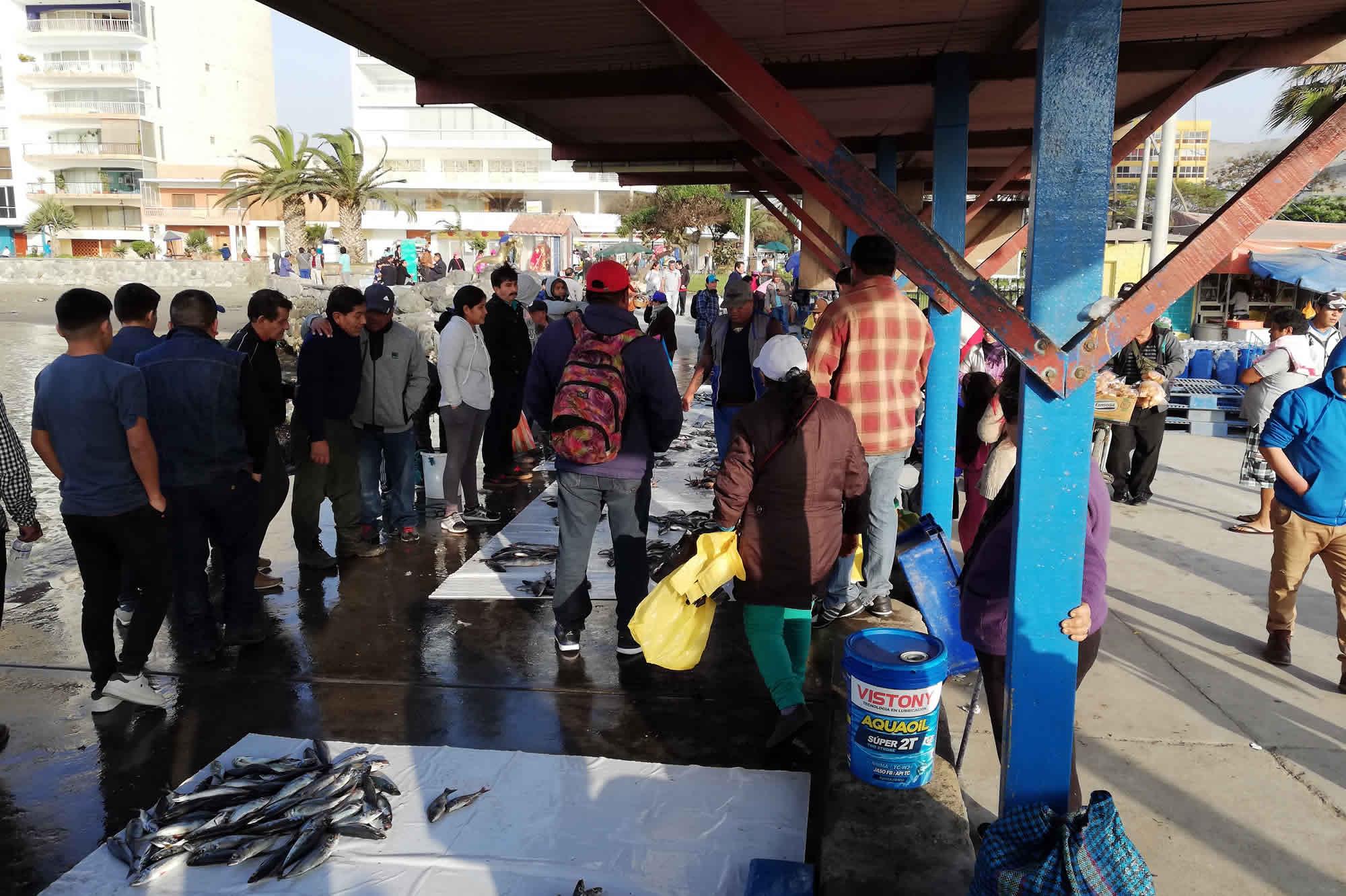 TURISMO EN ANCON | PESCADORES ARTESANALES