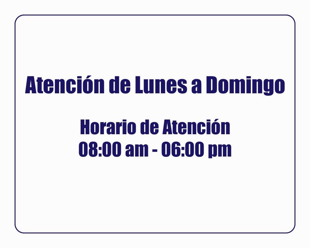 TURISMO EN ANCON | HORARIO DE ATENCION