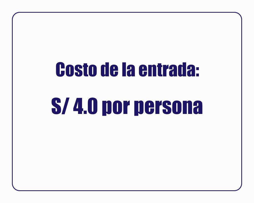 TURISMO EN ANCON | COSTOS
